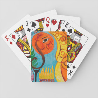 Naive Art Designed Playing cards