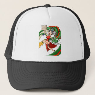 Nakano bloom lotus (Japanese) English story Trucker Hat