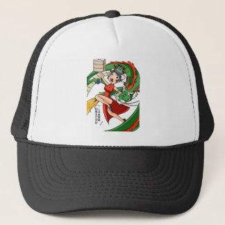 Nakano bloom lotus (Japanese) English story Trucker Hat