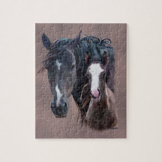 Nakota Mare and Foal Jigsaw Puzzle