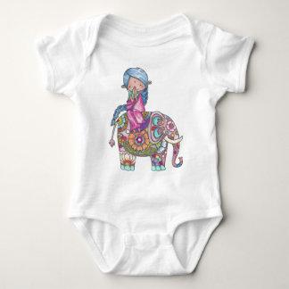 Nalini the small Hindu woman Baby Bodysuit