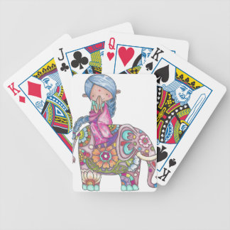 Nalini the small Hindu woman Bicycle Playing Cards