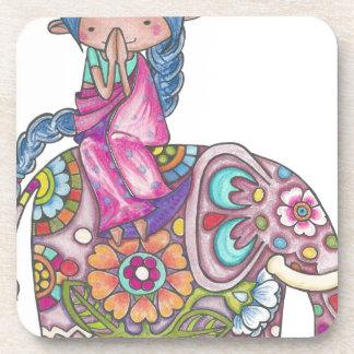 Nalini the small Hindu woman Coaster