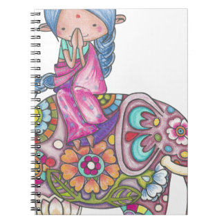 Nalini the small Hindu woman Notebook
