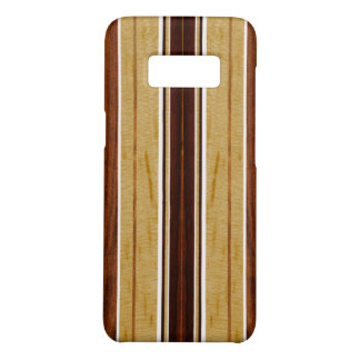 Nalu Hou Faux Koa Wood Surfboard Case-Mate Samsung Galaxy S8 Case