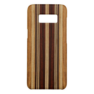 Nalu Lua Faux Koa Wood Surfboard Case-Mate Samsung Galaxy S8 Case