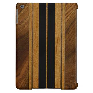 Nalu Mua Faux Koa Wood Surfboard iPad Air Cases
