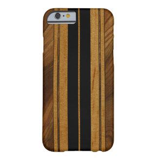 Nalu Mua Faux Koa Wood Surfboard iPhone 6 case