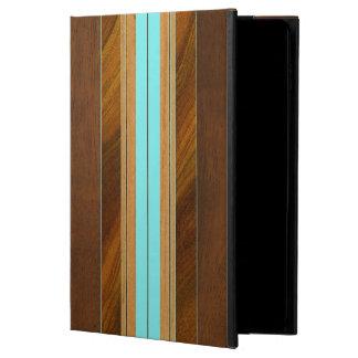 Nalu Mua Faux Koa Wood Surfboard Powis iPad Air 2 Case
