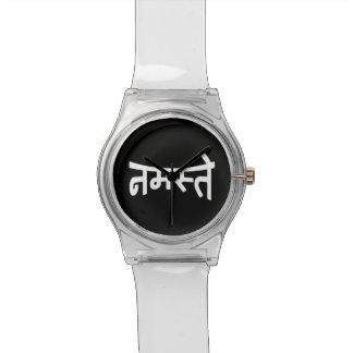 Namaste (नमस्ते) - Devanagari Script Watches