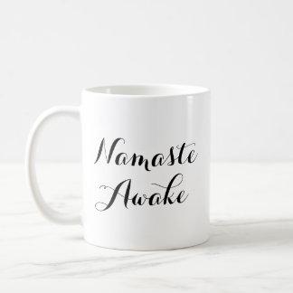 Namaste Awake Mug
