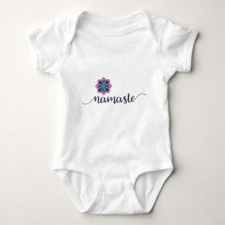 namaste baby bodysuit
