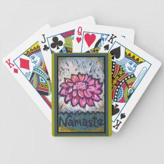 Namaste Bicycle Playing Cards