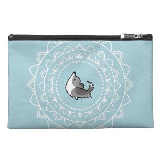 Namaste Blue Merle Corgi Accessory Bag