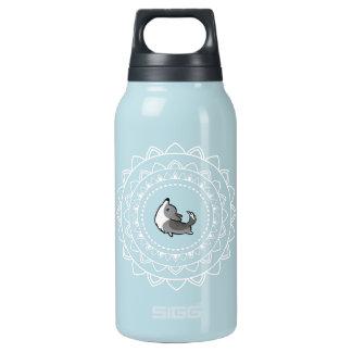Namaste Blue Merle Corgi Hot + Cold Water Bottle