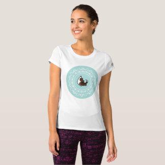 Namaste Brindle Corgi New Balance Workout Shirt