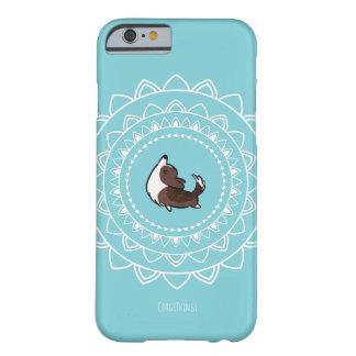 Namaste Brindle Corgi Phone Case