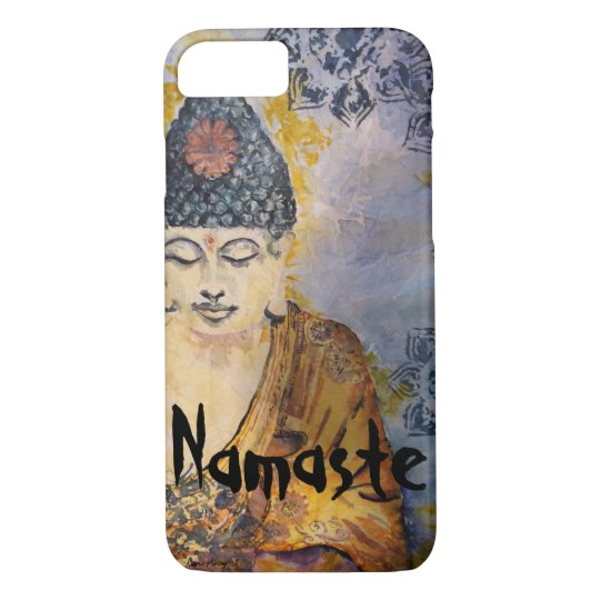 Namaste Buddha Art  iPhone Cases