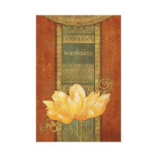 Namaste Canvas Canvas Print
