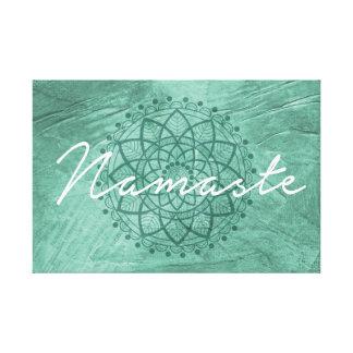 Namaste canvas wall decor canvas print