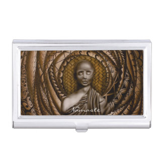 Namaste collection business card holders