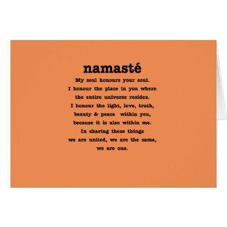 Namaste Collection Card