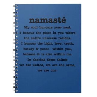 Namaste Collection Spiral Notebook