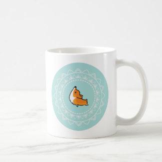 Namaste Corgi Mug