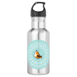 Namaste Corgi Tricolor Blue Emblem Water Bottle 532 Ml Water Bottle