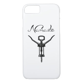 Namaste Corkscrew iPhone Cover