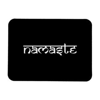 Namaste Design on Sanskrit Style Magnet