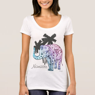 Namaste elephant T-shirt