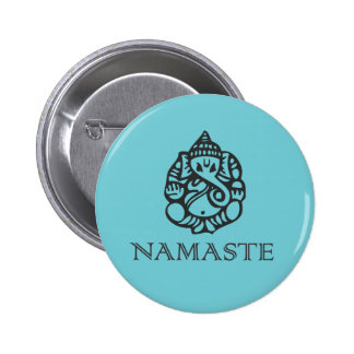Namaste Ganesh Badge