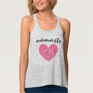 Namaste Heart Tanktop Singlet