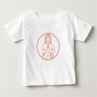 Namaste  Icon Baby T-Shirt