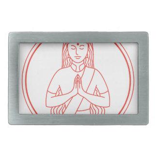 Namaste  Icon Belt Buckle
