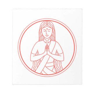Namaste  Icon Notepad