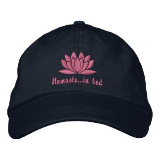 Namaste In Bed Basic Adjustable Cap Emb