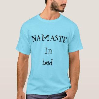 Namaste in Bed! tee