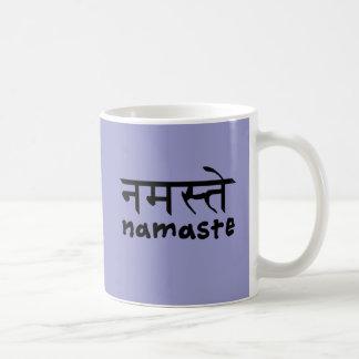 Namaste in English and Hindi Coffee Mug