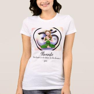 """""""Namaste in Life""""  Short-Sleeve Shirt"""