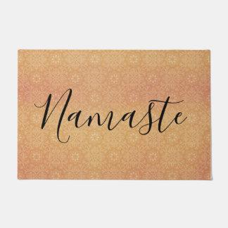 Namaste Indian Summer Mandala Copper Doormat