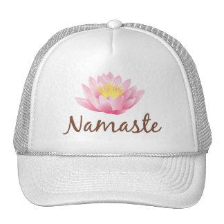 Namaste Lotus Flower Yoga Hats