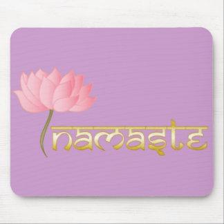 Namaste Lotus Mousepad