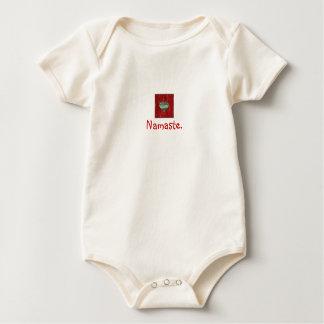 """Namaste"" Organic Baby Bodysuit"