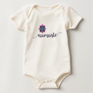 namaste organic baby bodysuit