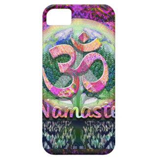 Namaste Peace Symbol iPhone 5 Cases