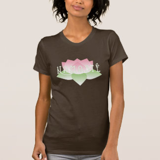 Namaste Pink Lotus Yoga Shirt