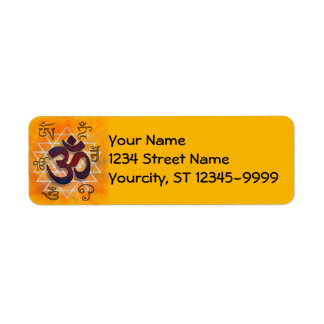 Namaste Return Address Label