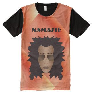 NAMASTE shirt All-Over Print T-Shirt
